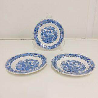 Vintage Egersund lys blå china