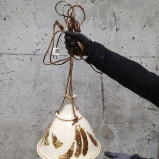 Vintage keramikk lampe 1