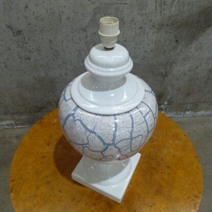 Stor bordlampe i porselen 1