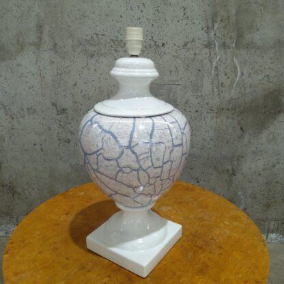 Stor bordlampe i porselen