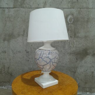 Stor bordlampe i porselen 4