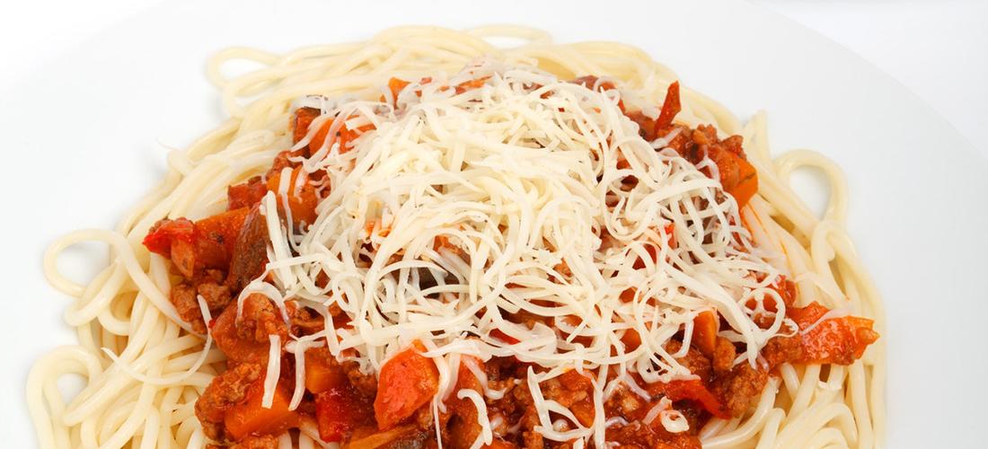 Matmuffins med spagetti