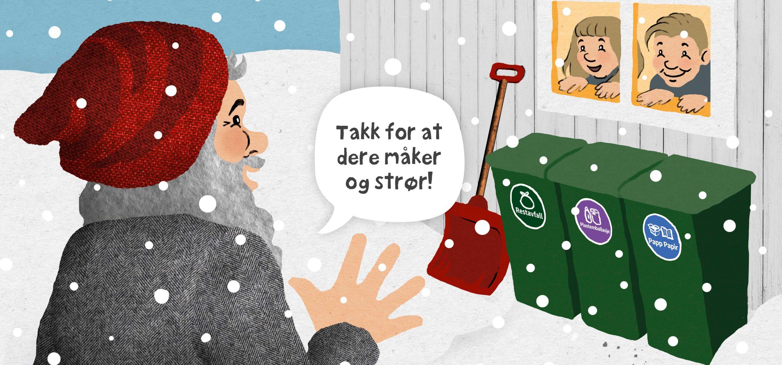 Får du snøen og isen bort, får vi jobben gjort! 2